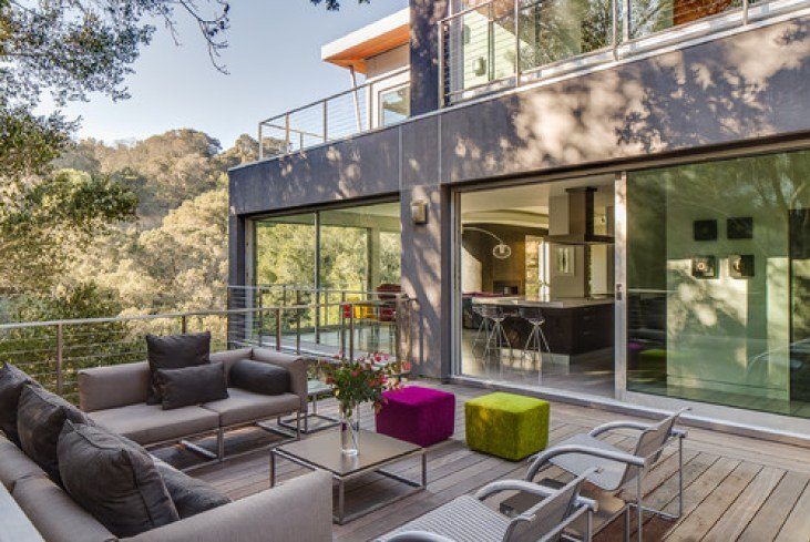 A Modern House in Portola Valley, California