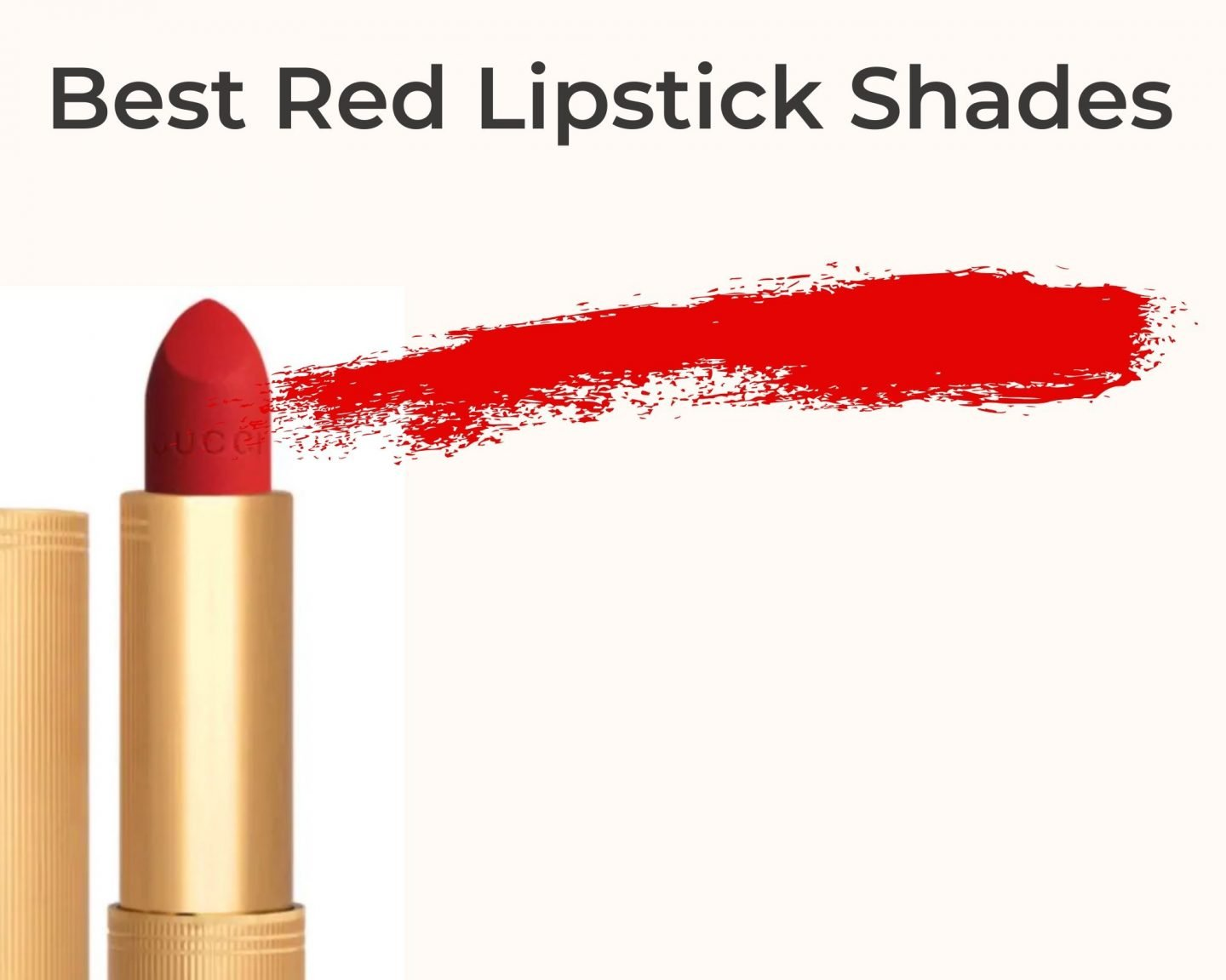 Best Red Lipstick Shades 2020